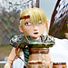 Astrid in Gift of the Night Fury icon