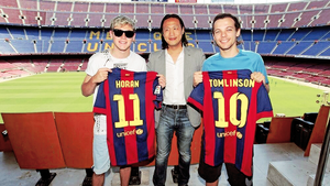 At Camp Nou (7/08)