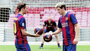 At Camp Nou (7/08)