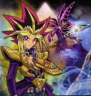 Atem and Dark Magician