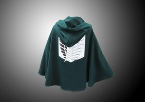 Attack On Titan cosplay capes