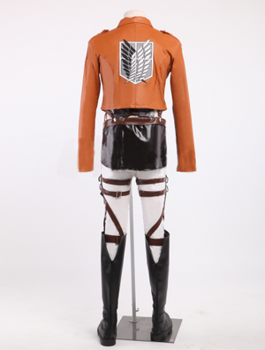 Attack on Titan Cosplay costume Uniform Outfits
