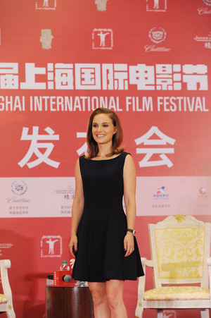 Attending a press conference at Crowne Plaza Hotel during the 17th Shanghai International Film Festi