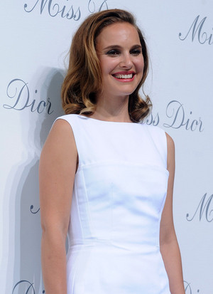 Attending the Miss Dior exhibition at Shanghai Urban Sculpture Center in Shanghai, China (June 19th