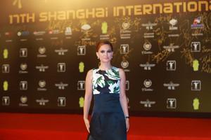 Attending the closing and award ceremony of 17th Shanghai International Film Festival at Shanghai Gr