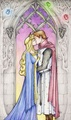 Aurora and Phillip - disney fan art