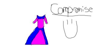 Aurora's Comromise Dress