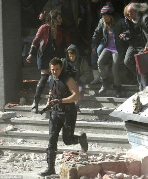 Avengers: Age of Ultron - Set Pics