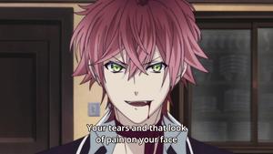 Ayato Sakamaki (the sexiest face ever)