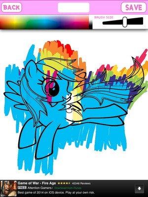 BadLy colored series: dash