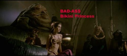 Star Wars wallpaper titled Badass Bikini Princess