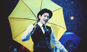 Baekhyun Singing In The Rain