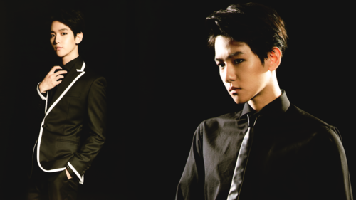 EXO wallpaper possibly with a business suit titled Baekhyun The Lost Planet