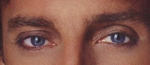 Barry's Beautiful Sapphire Blue Eyes