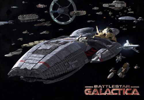 Rollenspiele für alle Hintergrund entitled Battlestar Galactica