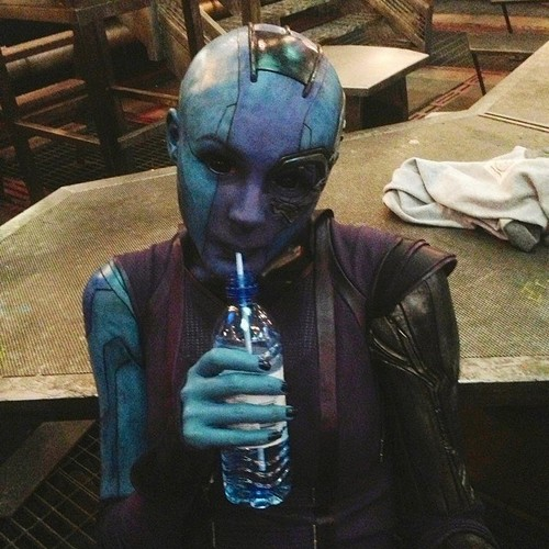 Guardians of the Galaxy 바탕화면 called Behind The Scenes