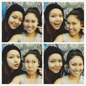 Bekah with Sooyoung