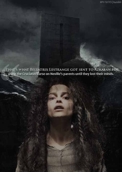 Bellatrix Lestrange and Azkaban
