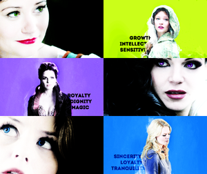 Belle, Regina and Emma