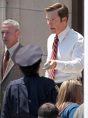 Ben on set of Black Mass