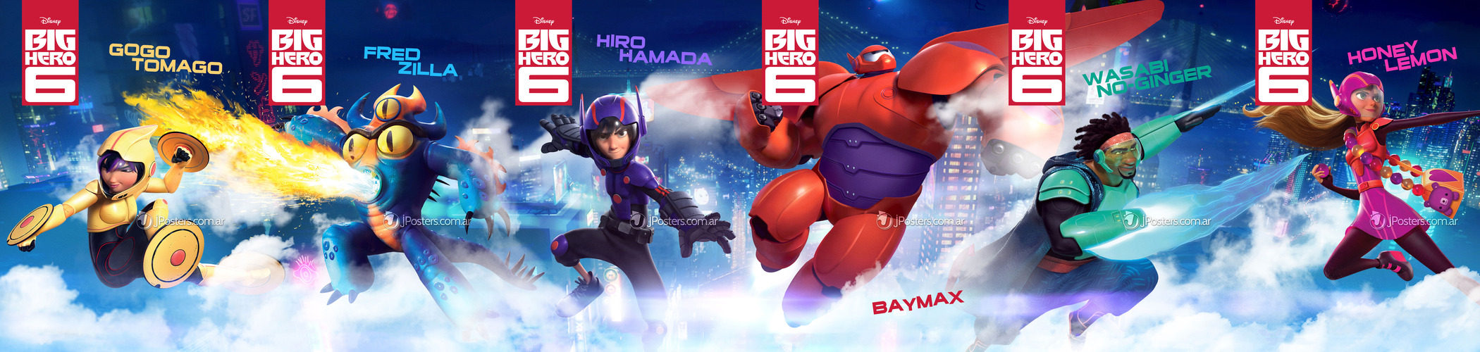 Big Hero 6 Cartoon Characters Names : Big hero characters photo  fanpop
