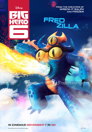 Big Hero 6 Posters - Fredzilla
