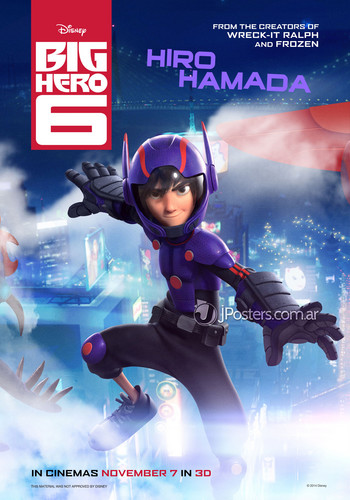 Big Hero 6 Hintergrund probably with a diving suit and Anime titled Big Hero 6 Posters - Hiro