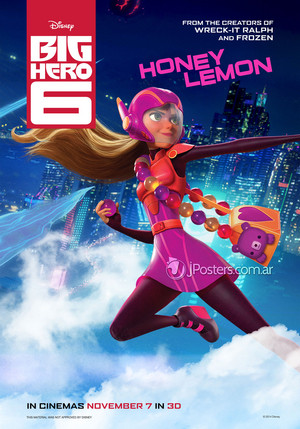 Big Hero 6 Posters - Honey Lemon