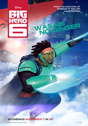Big Hero 6 Posters - Wasabi
