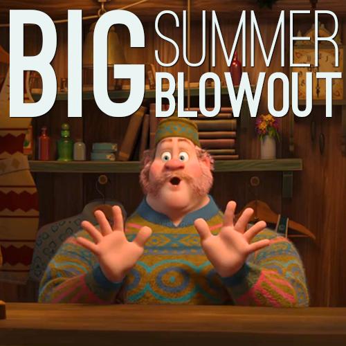 Frozen wallpaper called Big Summer Blowout