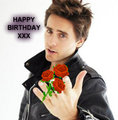 Bithday - jared-leto fan art