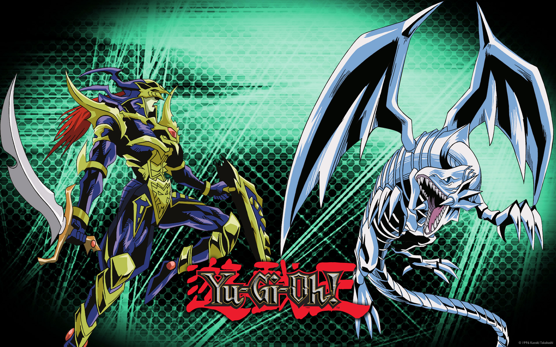 Black Luster Soldier And Blue Eyes White Dragon The Anime