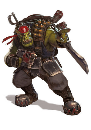 Blood Axe Ork