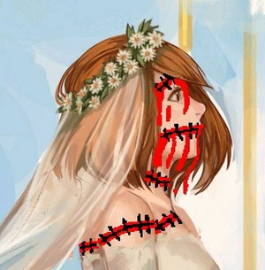 Bloody wedding of Petra
