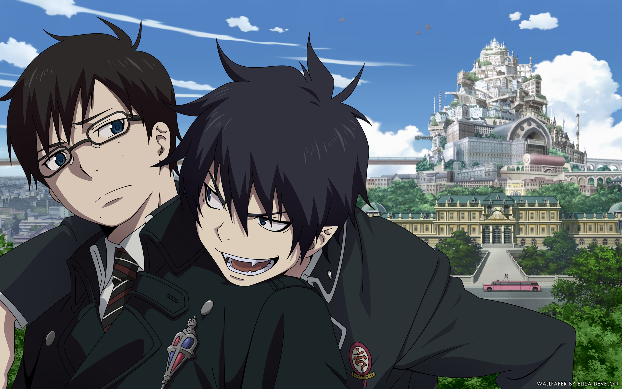 epic blue exorcist wallpaper - photo #32