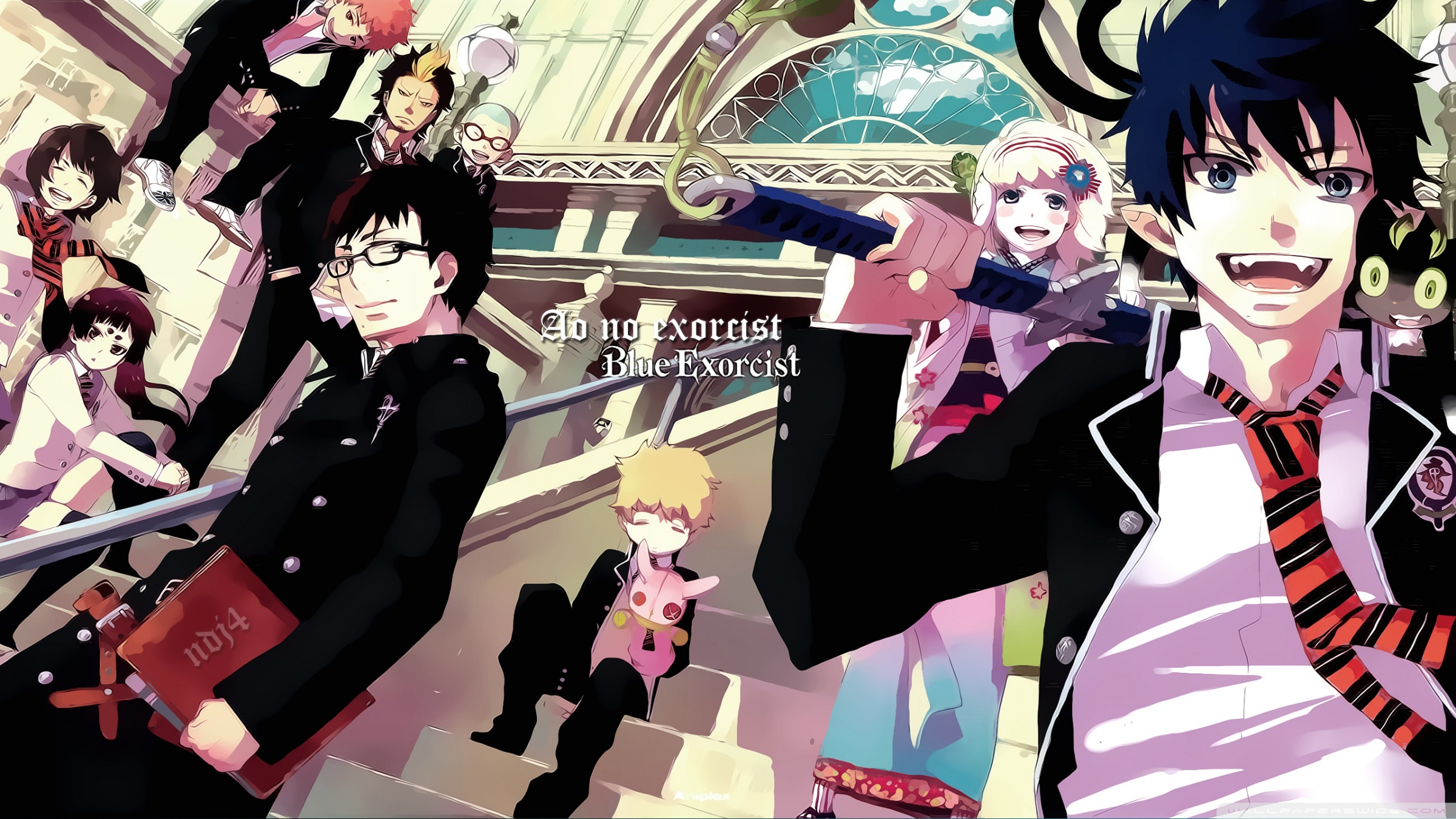 The Anime Kingdom Images Blue Exorcist Hd Wallpaper And Background