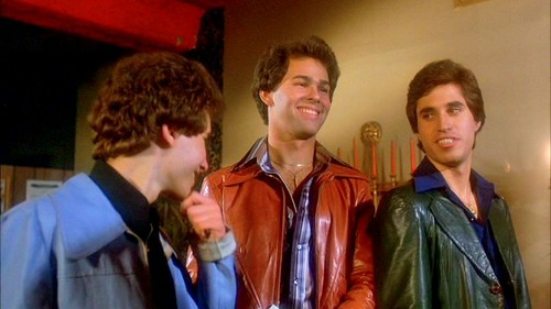 Saturday Night Fever Hintergrund called Bobby C, Double J and Joey