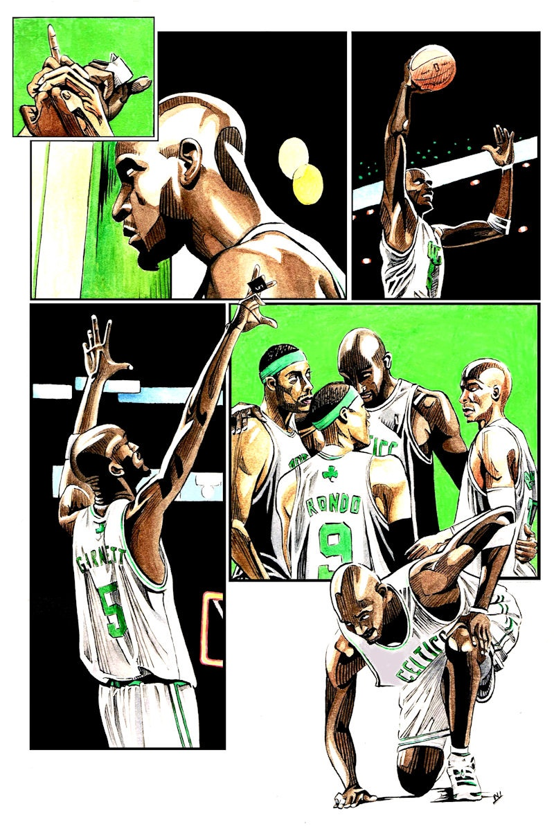 Boston Celtics fanart