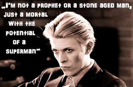 Bowie quotes <3 - David Bowie Fan Art (37206353) - Fanpop