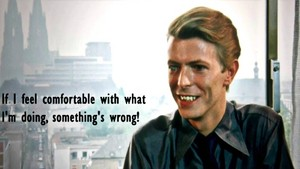 Bowie quotes <3