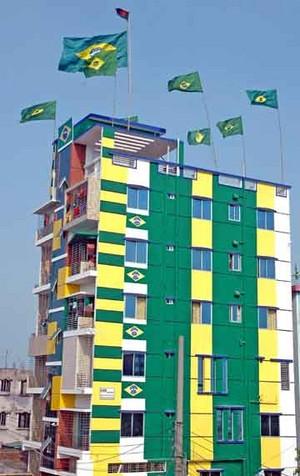 Brazil Фан in Бангладеш