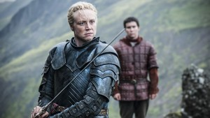 Brienne Of tarth and Podrick Payne Season 4