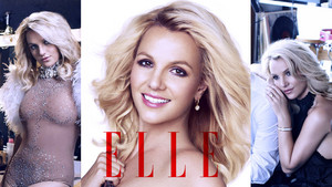 Britney Spears Elle