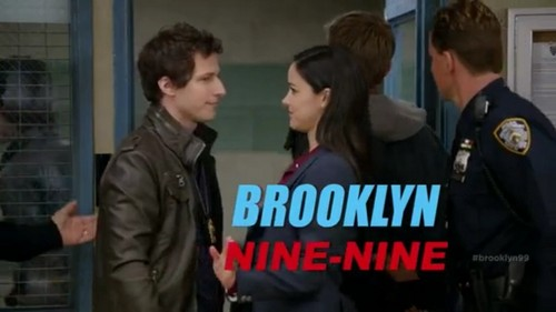 Brooklyn Nine-Nine پیپر وال possibly containing a green beret, a business suit, جنگ کا جوڑا, and جنگ لباس titled Brooklyn nine-nine