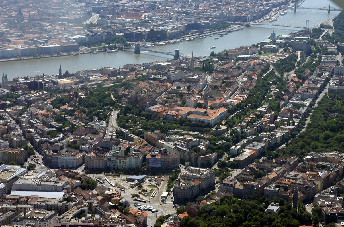Budapest, the capital of Hungary where I live