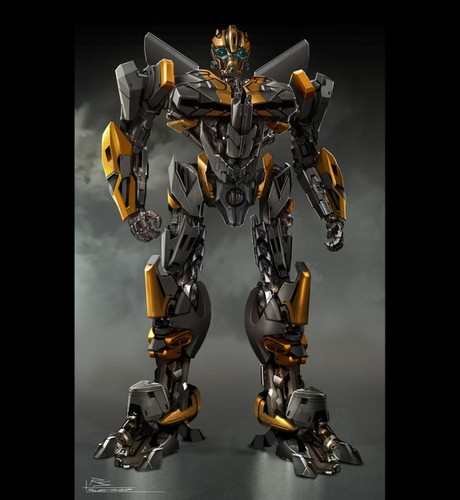 transformers wallpaper titled Bumblebee Concept Art