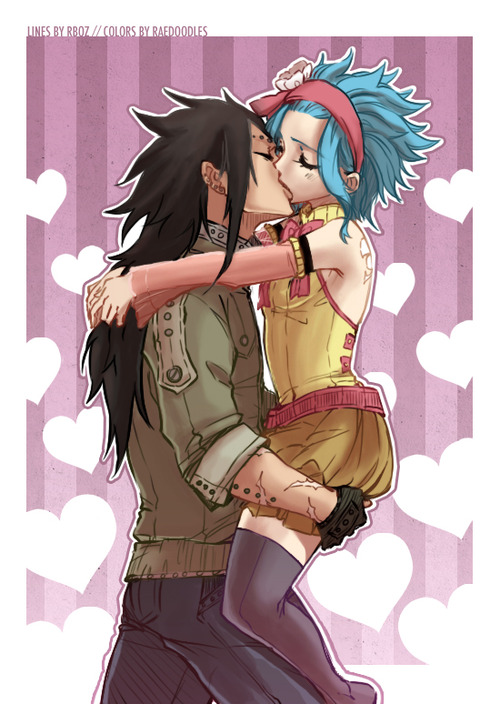 Fairy Tail Gajeel and Levy Love