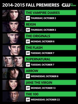 CW Fall Premieres