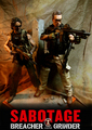 Calvin's Custom One Sixth Scale Sabotage Breacher and Grinder Figures