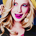 Candice icons with pink lighting  - candice-accola icon